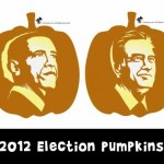 2012 Election Pumpkin Carving: President Obama and Governor Romney