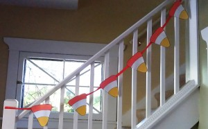 This kids' craft makes an awesome Halloween decoration.