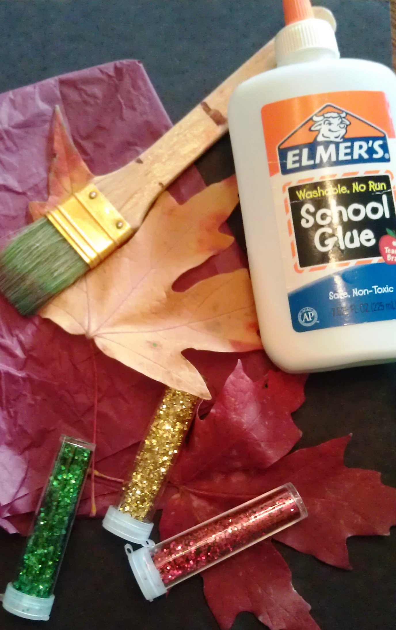 Leaf Art Craft Supplies | Woo! Jr  Kids Activities