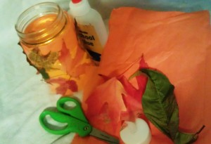 Tissue Paper and Luminary Craft Supplies