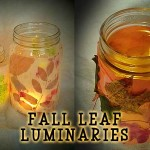 Autumn Leaf Luminaria Craft