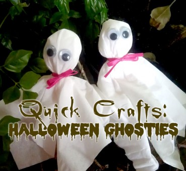 Super Easy Ghost Craft for Kids