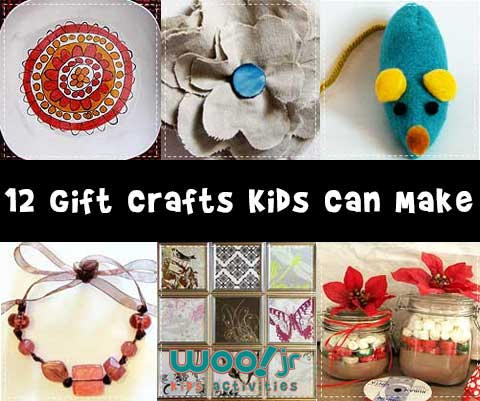 12 Gift Crafts that Kids Can Make