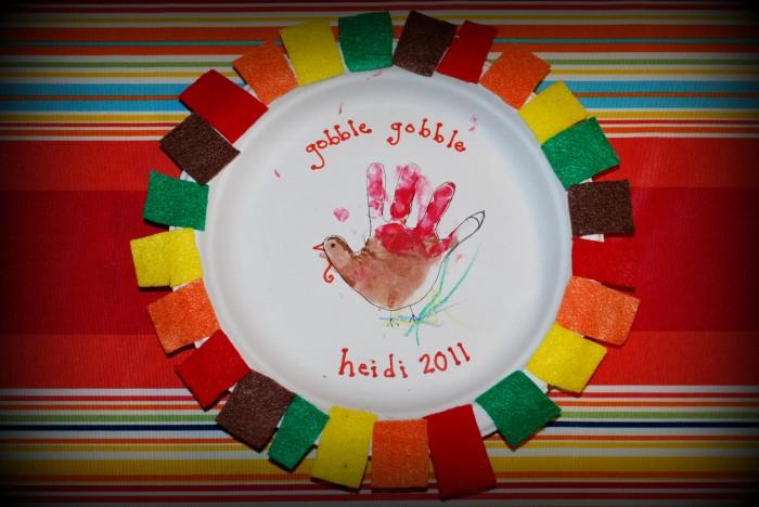 Toddler Thanksgiving Crafts