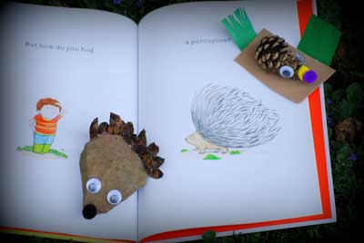 Using your pinecone porcupines for a teaching activity