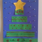 Construction Paper Christmas Tree Craft