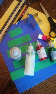 Construction Paper Christmas Tree Craft Supplies