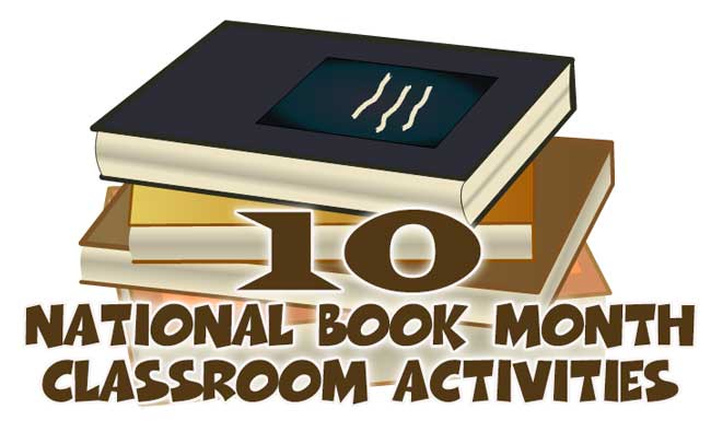 Ten Classroom Activities to Celebrate National Book Month in January