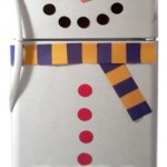Turn Your Refrigerator into a Snowman!