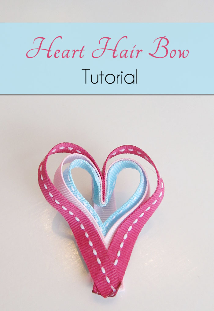 Heart Hair Bow Craft For Valentine S Day Woo Jr Kids Activities