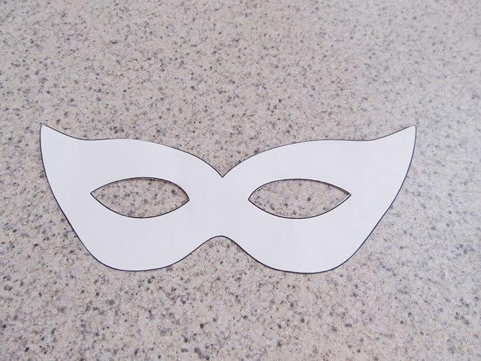 Mardi gras mask craft and template woo jr kids activities the cut out mask template pronofoot35fo Images