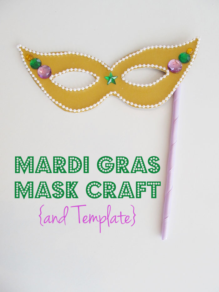 Mardi gras mask craft and template woo jr kids for Mardi gras masks crafts