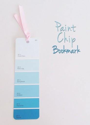 Paint Chip Bookmark