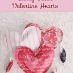 Candy-Filled Paper Valentine Heart Treats