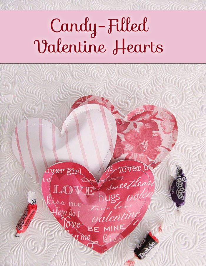 Candy Filled Paper Valentine Treats