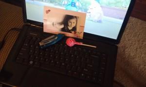 Lollipop Photo Card Supplies