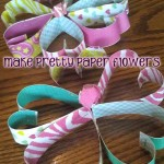 How to Make a Pretty Paper Flower Craft With Kids