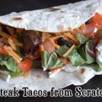 Homemade Steak Tacos from Scratch – YUM.