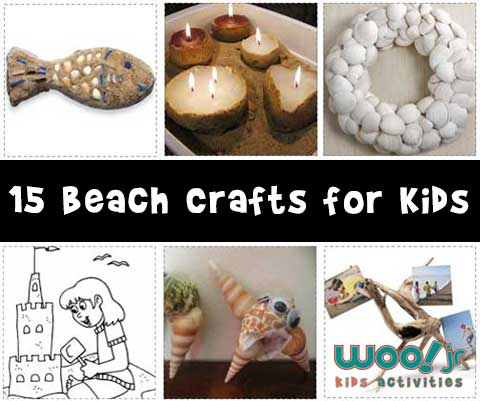 15 Summer Beach Crafts for Kids