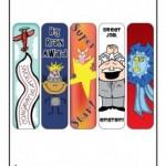 Printable Bookmarks for Teachers