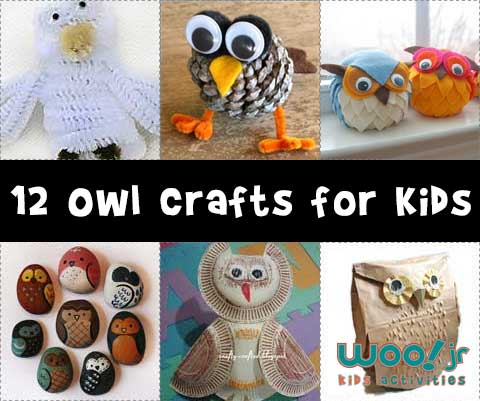 Animal Crafts For Fall Owl Crafts Woo Jr Kids Activities