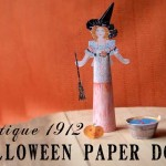 Free Antique Halloween Paper Doll – Printable Paper Craft