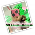 Easy Lady Bug Antenna Craft for Kids