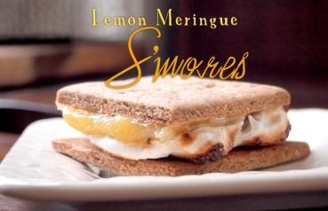 Lemon Meringue S'mores with Homemade Graham Crackers & Marshmallows