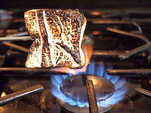 Toasted Homemade Marshmallows