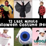 Last Minute Easy Kids Costumes for Halloween