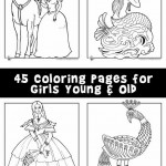 Coloring Pages for Girls Young & Old