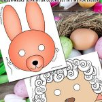 Printable Easter Masks for Kids