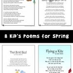 Spring Kids Poems
