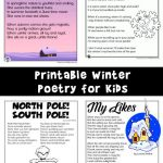 Winter Kids Poems