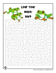 Leap Year Maze - Harder