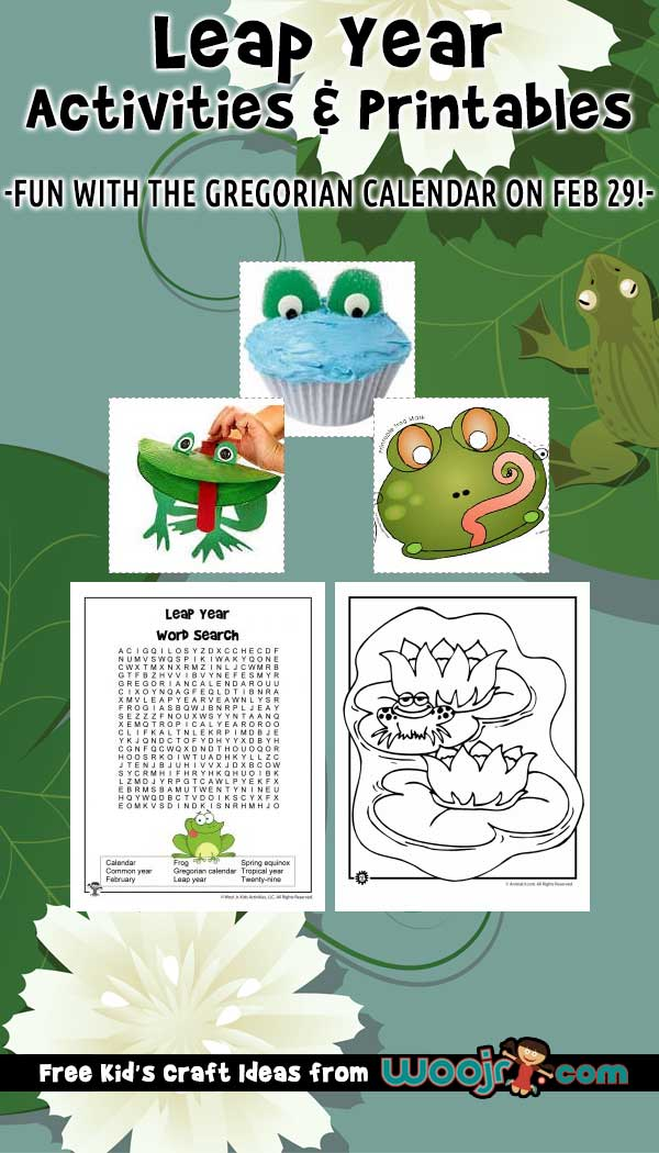 Leap Year Activities for Kids