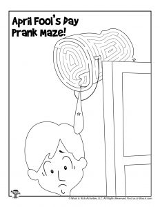 April Fools Activities Prank Maze