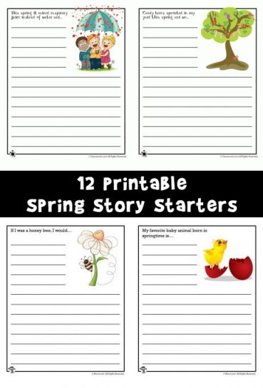 Spring Story Starters