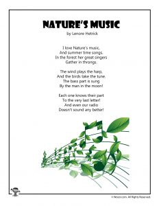 Nature's Music Children's Poetry