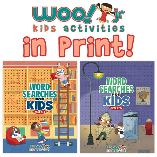 Woo! Jr. Kids Activities Workbooks