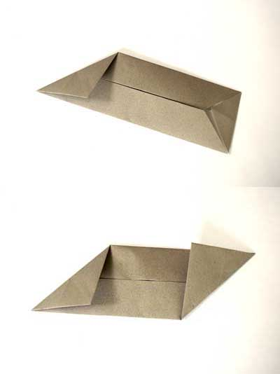 Origami ball instructions - step 3