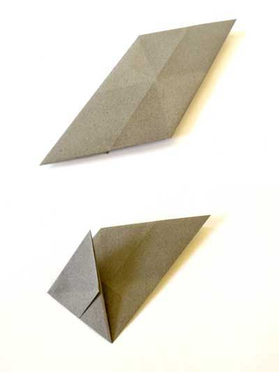 Origami ball instructions - step 5