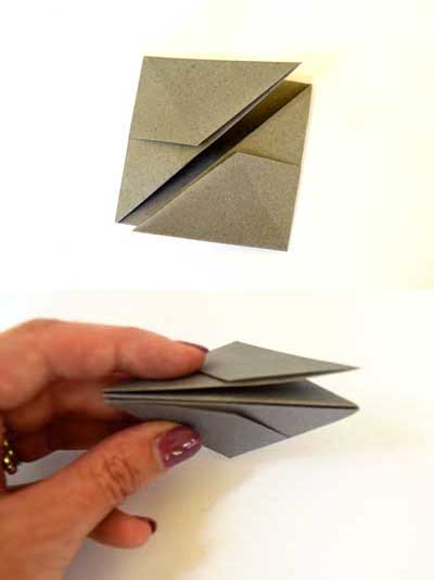 Origami ball instructions - step 6