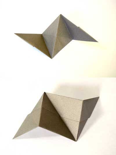 Origami ball instructions - piece completed!