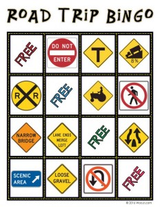DO NOT ENTER - Car Printable Bingo Game