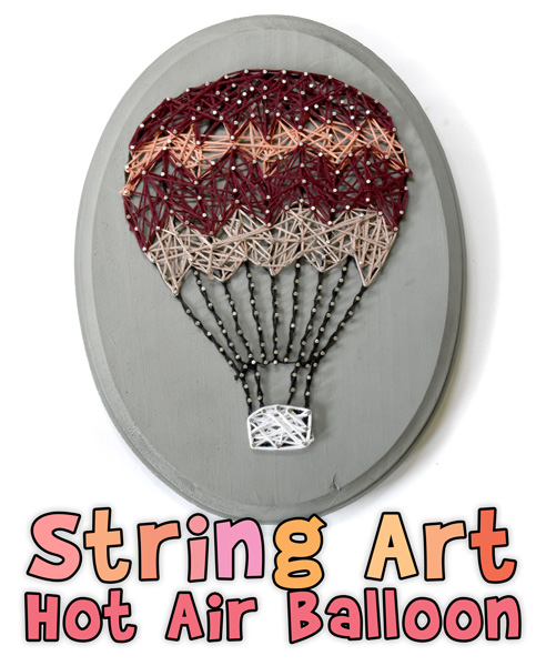 Kids String Art Project