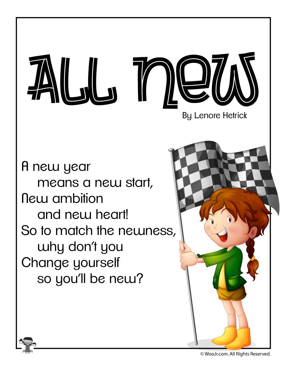 New Years Eve And New Years Day Kids Poems Woo Jr Kids