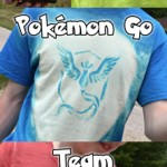 Make Your Own Pokemon Go Team T-Shirts! (Free Printable)