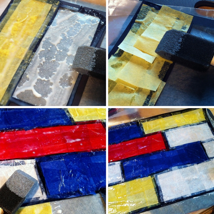 Mondrian Stained Glass Step-by-Step