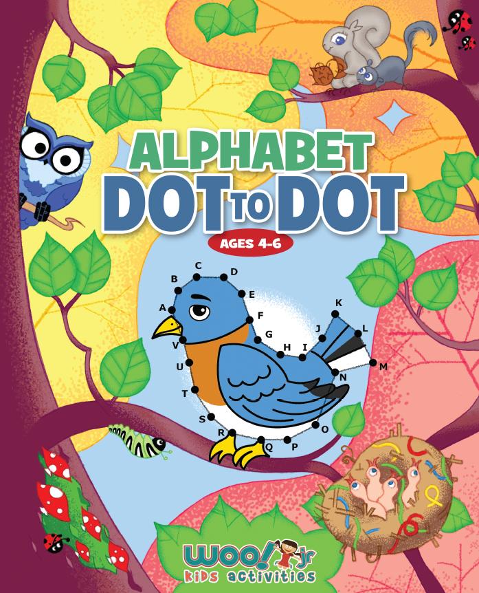 Alphabet Dot to Dot Book
